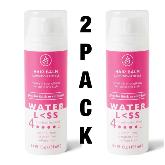Water Less Hair 2 Pack Balm Condition Style Poshmark